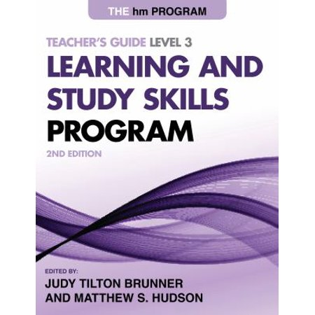 The Hm Learning And Study Skills Program  Level 3
