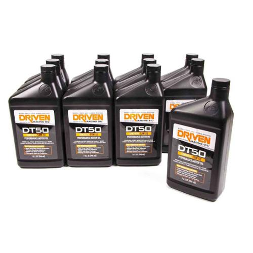 Driven Racing Oil DT50 15W50 Motor Oil 1 qt Case Of 12 P/N 02807