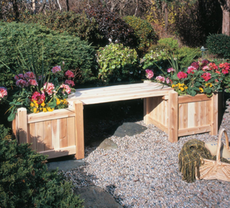 """21"""" Natural Cedar Outdoor Garden Patio Wooden Square Flower Planter"""