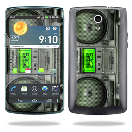 Mightyskins Protective Vinyl Skin Decal Cover for Pantech Discover AT&T Cell Phone wrap sticker skins Boombox