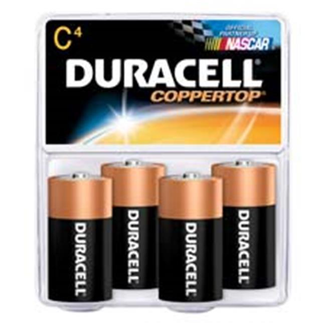 Duracell DURMN14RT8Z Alkaline Battery- Size C- 8-PK