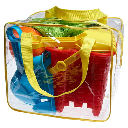 Beach Toy Set in Reusable Zippered Bag with Mesh Bag for Easy Clean and (Kids Stores Nz)