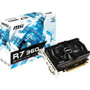 MSI R7 360 2GD5 OC Radeon R7 360 1.10 GHz 2GB GDDR5 PCIe 3.0 x16 Graphic Card