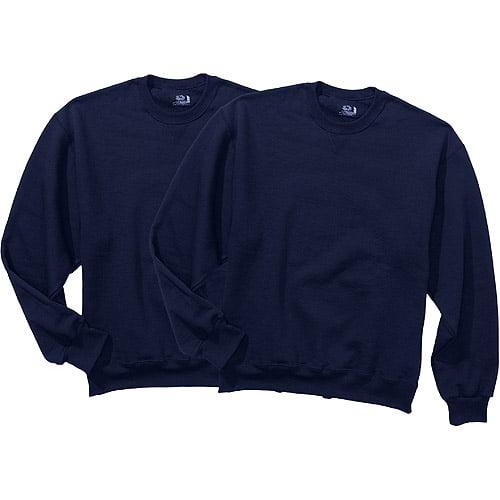 Fruit of the Loom Mens Fleece Crew Sweatshirt