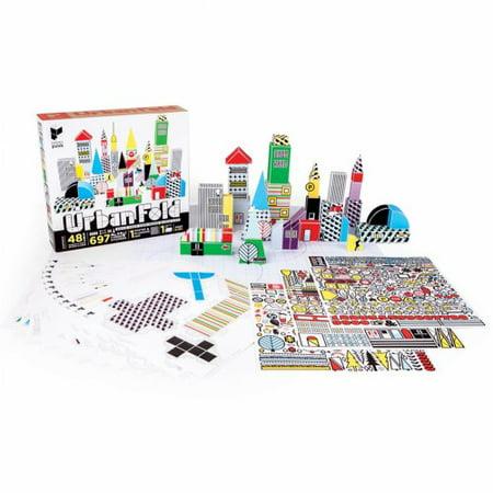 Paper Punk(R) Urban Fold: Build Your Own Paper Block City