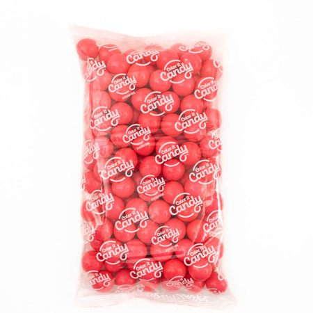 Candy Buffet Favors (Color It Candy Pink Gumballs 2 lb, Party Favors, Buffets,)
