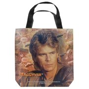 Macgyver Tools Of The Trade Tote Bag White 13X13
