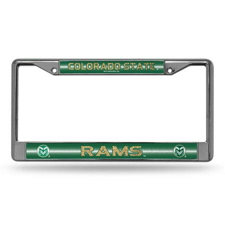 Colorado State Rams Bling Chrome Frame - image 1 de 1