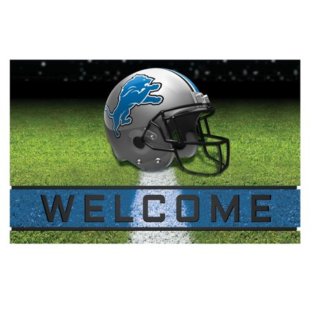 Detroit Lions Matt (Detroit Lions Crumb Rubber Door Mat)