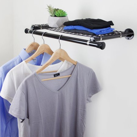 - Rod Desyne Single Shelf with Hanger