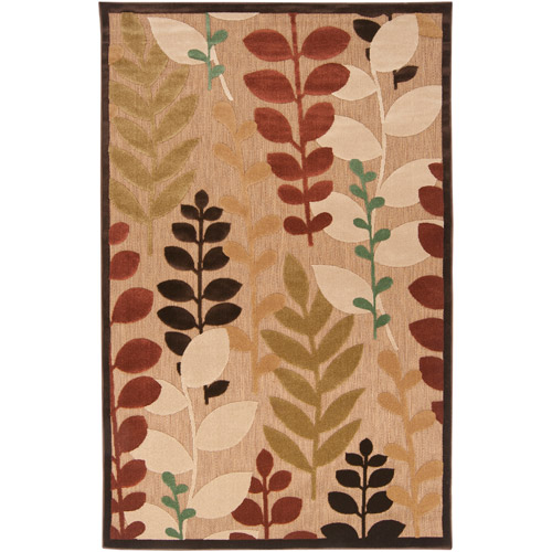 Art of Knot Houston Brown Olefin Area Rug