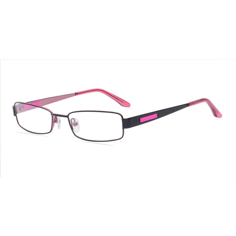 pomy eyewear womens prescription glasses 381 black pink
