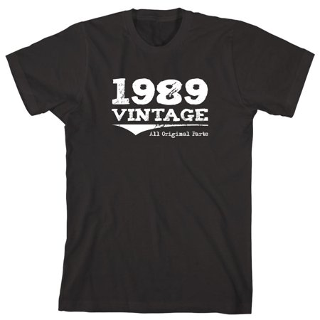 Vintage 1989 All Original Parts Men's Shirt - ID: 960 (Ps2 Shirt)