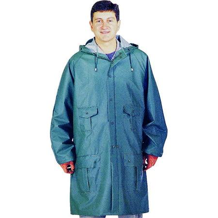 8156GRBXL Green/Blue Rain Parka Heavy-Duty, XL