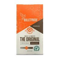 Bulletproof Whole Bean Coffee, Premium Medium Roast Gourmet Organic Beans, Rainforest Alliance Certified, Perfect for Keto Diet, Upgraded Clean Coffee (12 Ounces)
