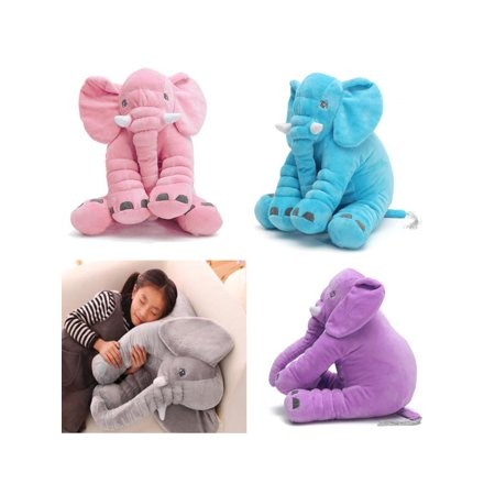 Elephant Sleeping Pillow Soft Stuffed Plush Doll Toys Baby Kids Children Birthday Valentine Gifts for Toddler Infant Kids Gift - Shepherd Staff For Sale