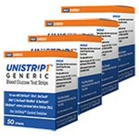 UniStrip Test Strips 50ct for Use with Onetouch Ultra Meters (50)
