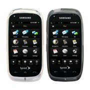 Sprint TPU Silicone Gel for Samsung Instinct HD - Gray & Clear (2 Pack)