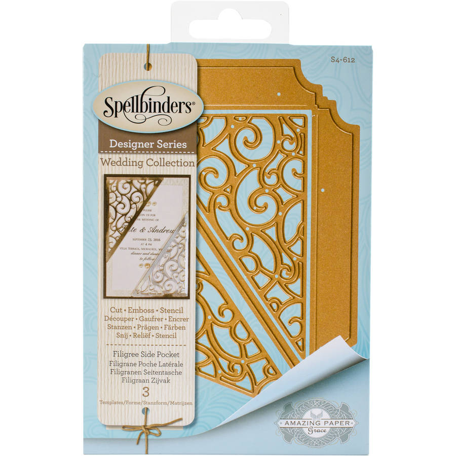 Spellbinders Shapeabilities Dies, Filigree Side Pocket
