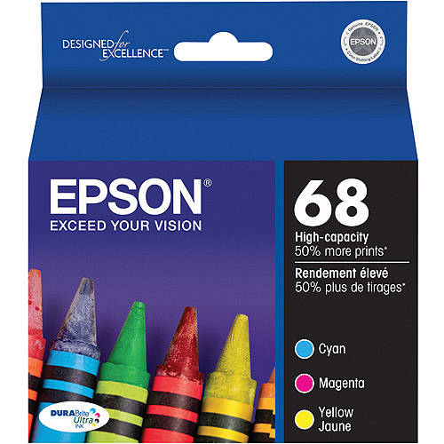 Epson T068520 Hi-Yield Color Multipack Ink Cartridge