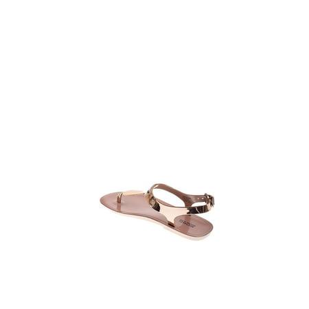 39cc35ad5337 Michael Michael Kors - Michael Michael Kors Womens Plate Jelly Split Toe  Casual T-Strap Sandals - Walmart.com