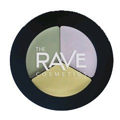 The Concealer Tri-Pot, Specially formulated to help cover blemishes, camouflage skin discolorations and hide imperfections. By Rave