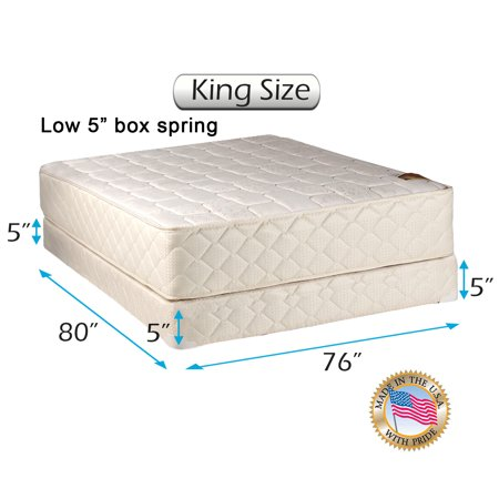 Dream Solutions Usa Grandeur Deluxe King Size 76 X80 X12 Mattress
