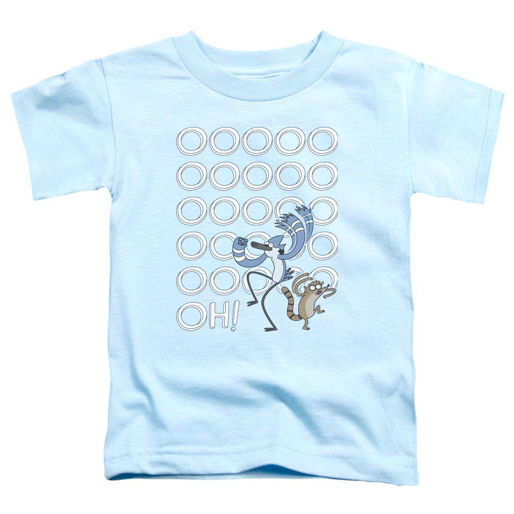 The Regular Show Oooooh Little Boys Toddler Shirt
