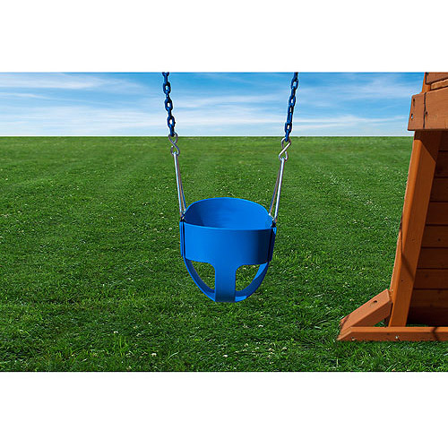 Gorilla Playsets Full BucketToddler Swing, Blue