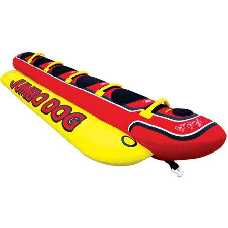 Jumbo Dog  Red And Yellow