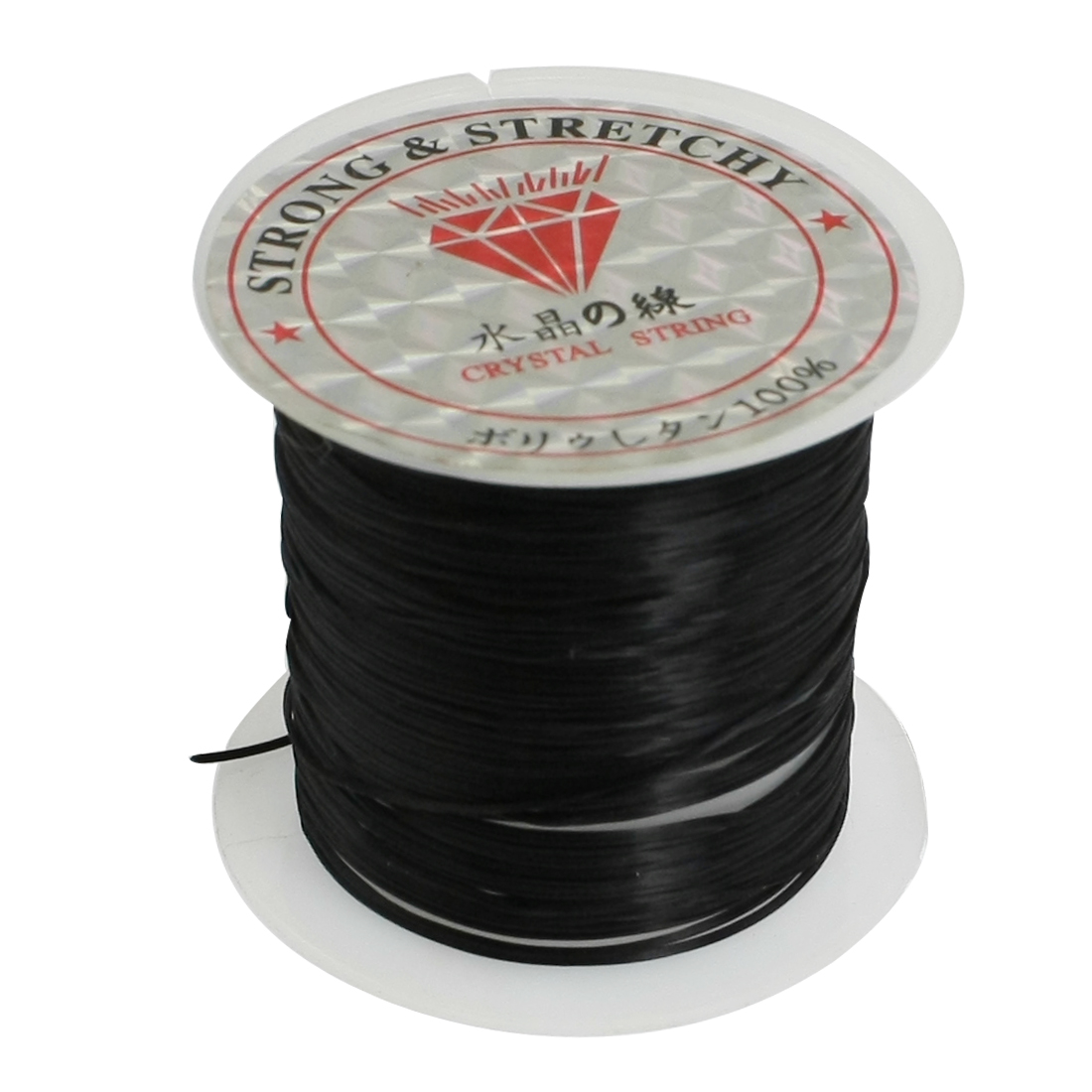 Jewelry Pendant Beading Thread Black Elastic Crystal String Cord Spool 9M