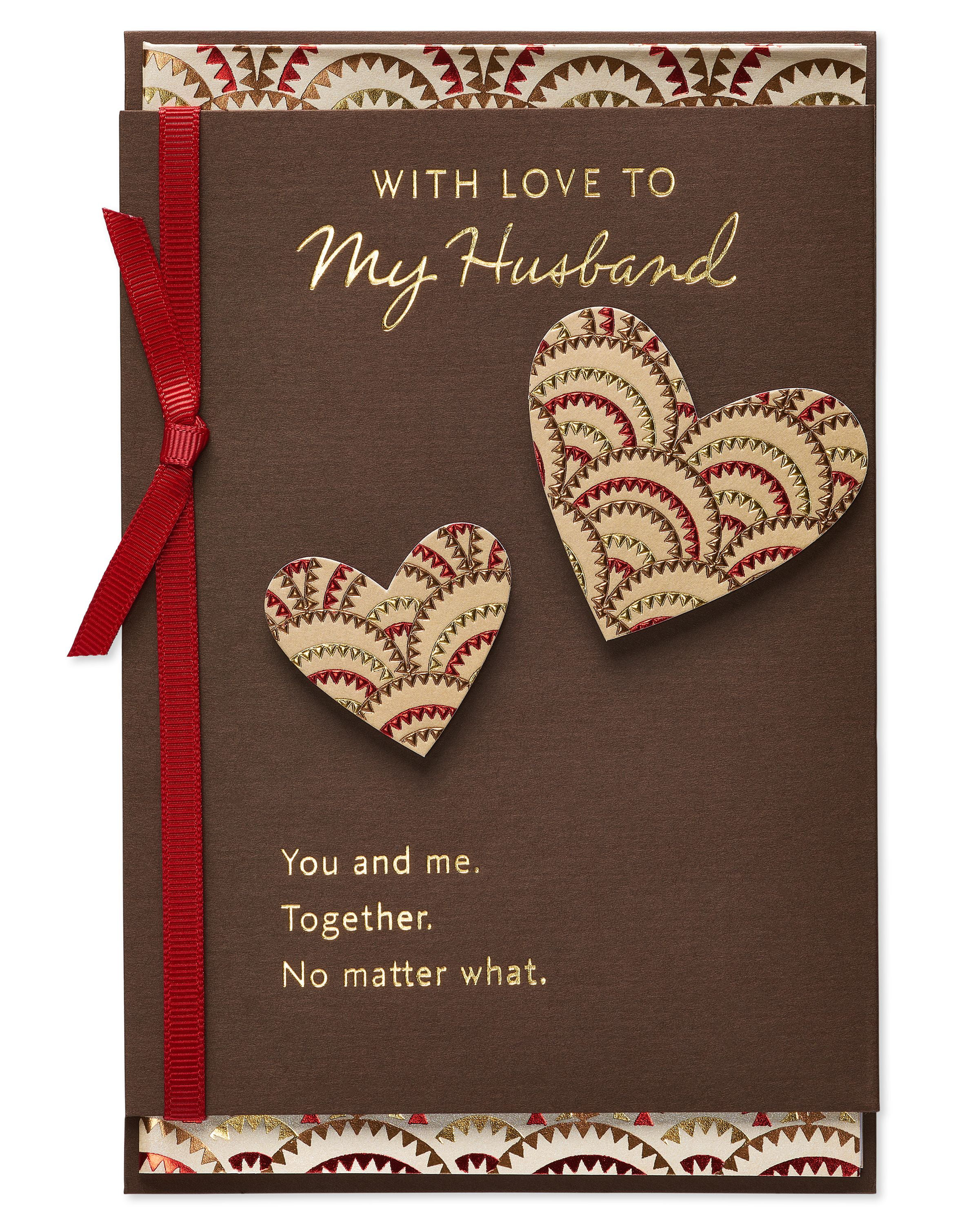 American Greetings Together Valentines Day Card For Husband
