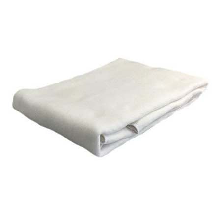 Koni Marriott Mattress Pad / Protector, Non-Quilted w/ Anchor Bands, White, Poly Anchor Band Mattress Pad