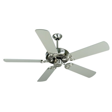 Craftmade CXL 52 in. Indoor Ceiling Fan with Curved Blades Craftmade Ceiling Fan Blades