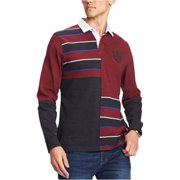Tommy Hilfiger Mens Colorblocked Rugby Polo Shirt
