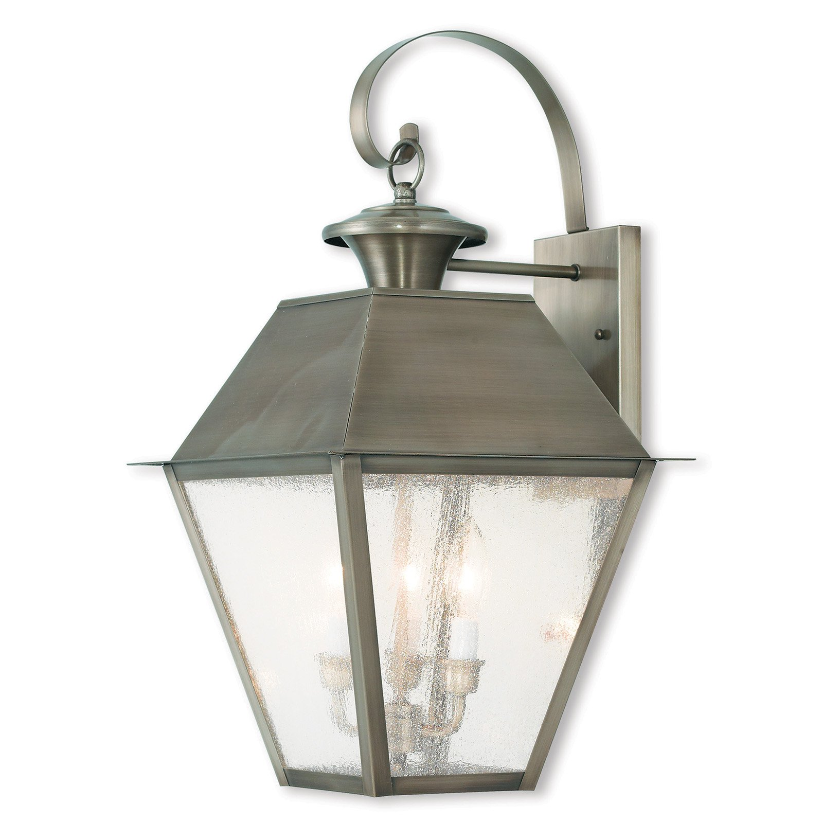 Livex Lighting Mansfield 2 Light Outdoor Wall Lantern