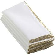 Saro Whip Stitched Napkin (Set of 4)