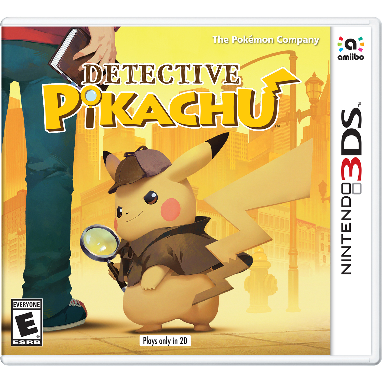 Detective Pikachu, Nintendo, Nintendo 3DS, 045496744892