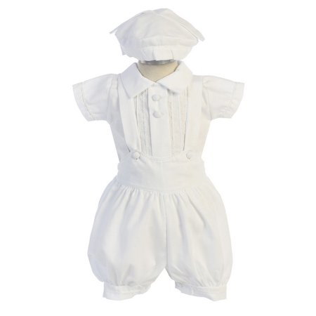 structural disablities newest style low priced Angels Garment Baby Boys White Button Shorts Shirt Christening Outfit