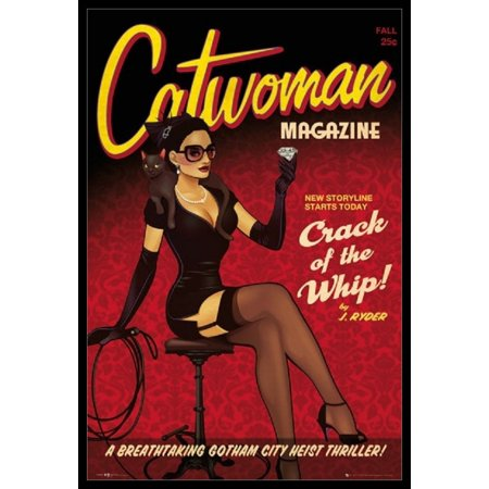 Catwoman - Crack the Whip Poster Poster Print ()