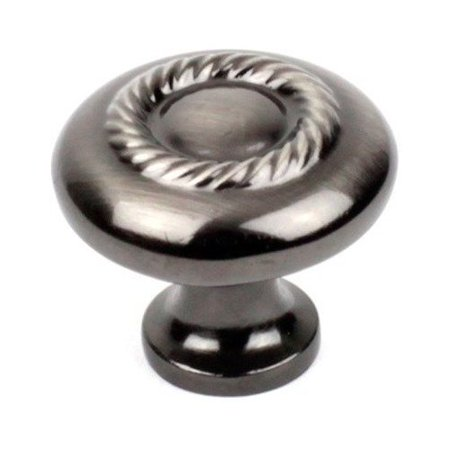 Zinc Brush (Century Hardware BCE 1-1/4 Inch Zinc Die Cast Knob - Brushed Black Nickel)