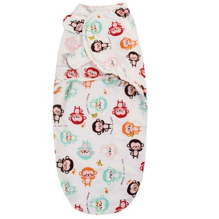 JOYFEEL Clearance Newborn Baby Cartoon Swaddle Wrap Infant Cotton Receiving Blanket Sack Bag Toddler Sleepsack Swaddler 62x28cmfor Baby Cotton Infant Baby Sleepsack