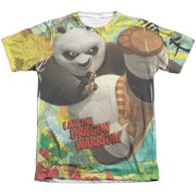 Kung Fu Panda Dragon Warrior Mens Sublimation Shirt