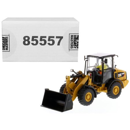 Diecast Masters 85557 1-50 CAT Caterpillar 906M Diecast Model Compact Wheel Loader with Operator