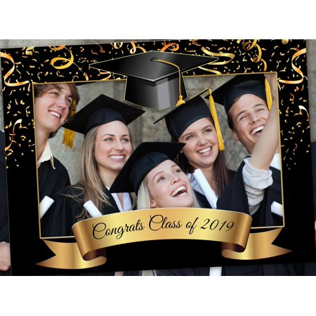 Graduation Photobooth, Class of 2019 Selfie frame, Congrats Grad, Graduation photo booth prop frame, Selfie Frame for Class of 2019 picture Frame Sizes 36x24, Graduation hat Selfie prop, photo prop