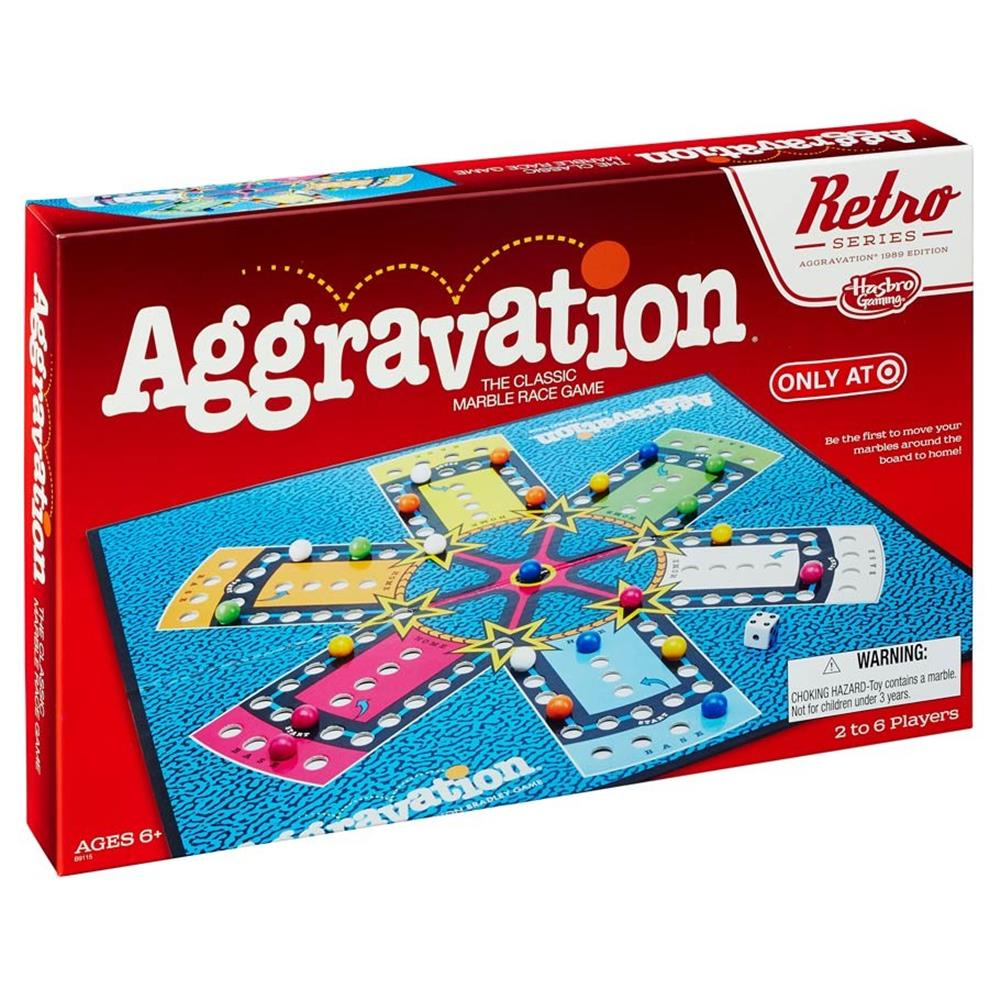 Image of Aggravation Game Retro Series 1989 Edition
