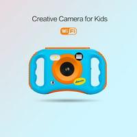Tuscom WiFi Kids Camera 1080P HD Digital Anti-Drop Children Camera 1.77 Inch LCD 8GB
