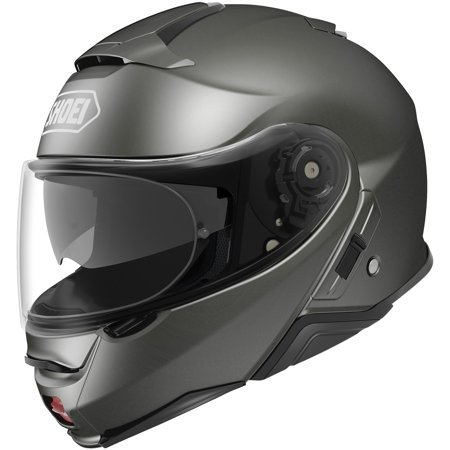 Shoei Neotec II Solid Helmet Anthracite Metallic (Silver, (Shoei Neotec Modular Helmet Best Price)