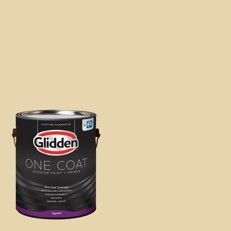 - Glidden One Coat, Interior Paint + Primer, Caramelized Pears