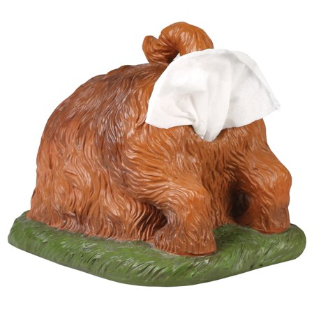 Digging Dog Butt Tissue Holder - Funny Square Shaped Tissue Box Cover